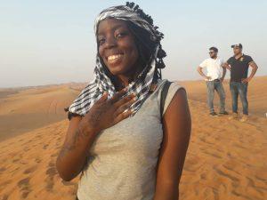 hienna: desert safari