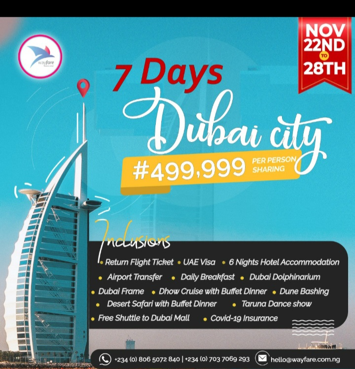 7 days in Dubai