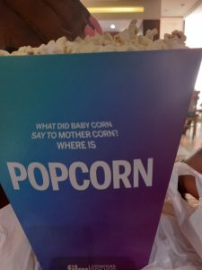 Popcorn from Genesis Cinemas