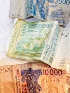 Benin Currency: Cefa