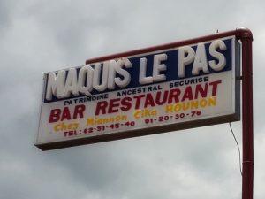 Maquis Le Pas restaurant