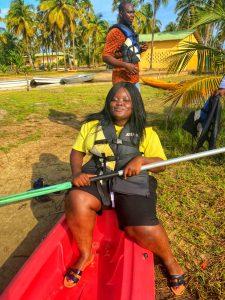 Kayaking at Casa del papa